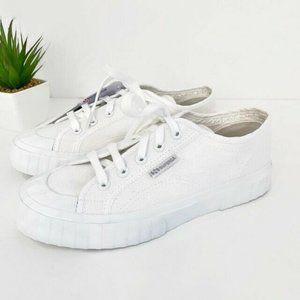 NEW Superga 2630 COTU Total White SneakerSz 6.5